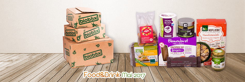 Biobox Food&Drink im Mai