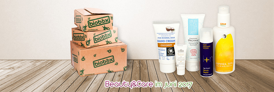 Biobox Beauty & Care im Juni