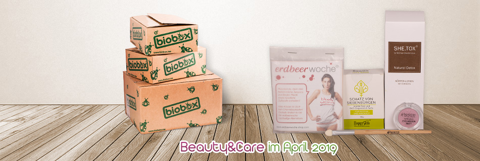 Biobox Beauty & Care im April