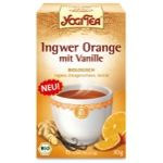 Yogi Tea - Ingwer Orange mit Vanille, 30g