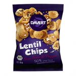Davert Lentil Chips Sea Salt & Pepper* 35g